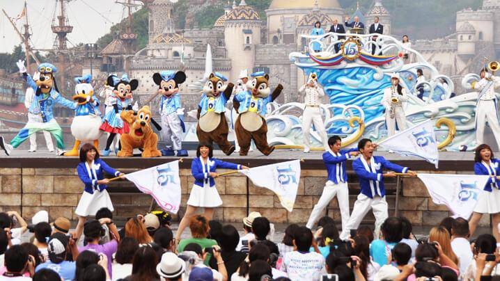 DisneySea-Tokyo lokasi wajib jika melancong ke jepun