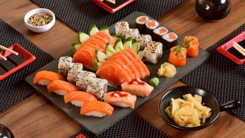 Sushi he delicious authentic food that needs to try when in Japan