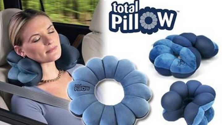 total-pillow 5 Jenis Bantal Yang Sesuai Dibawa ketika Melancong