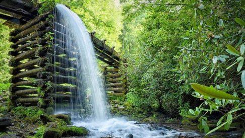 Giam Klimau Waterfall