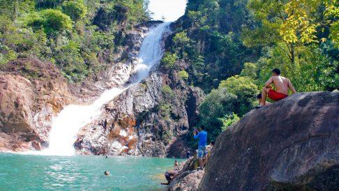 Berkelah Falls