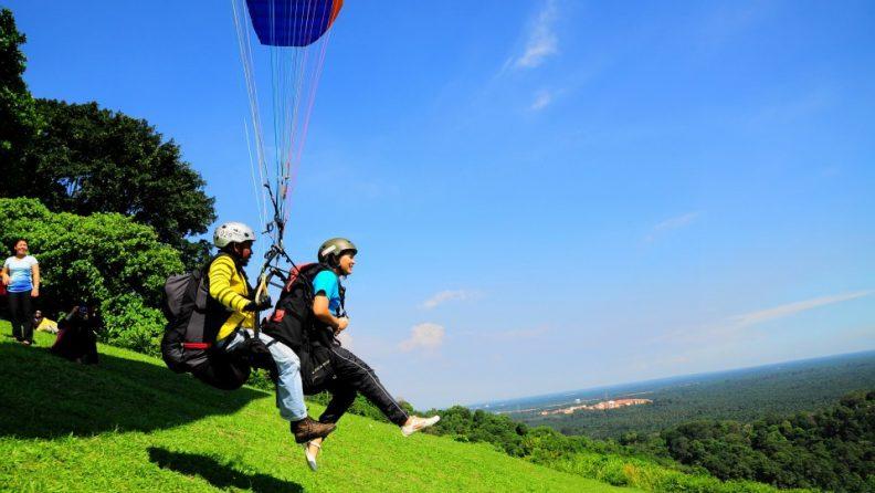 Paragliding Jugra