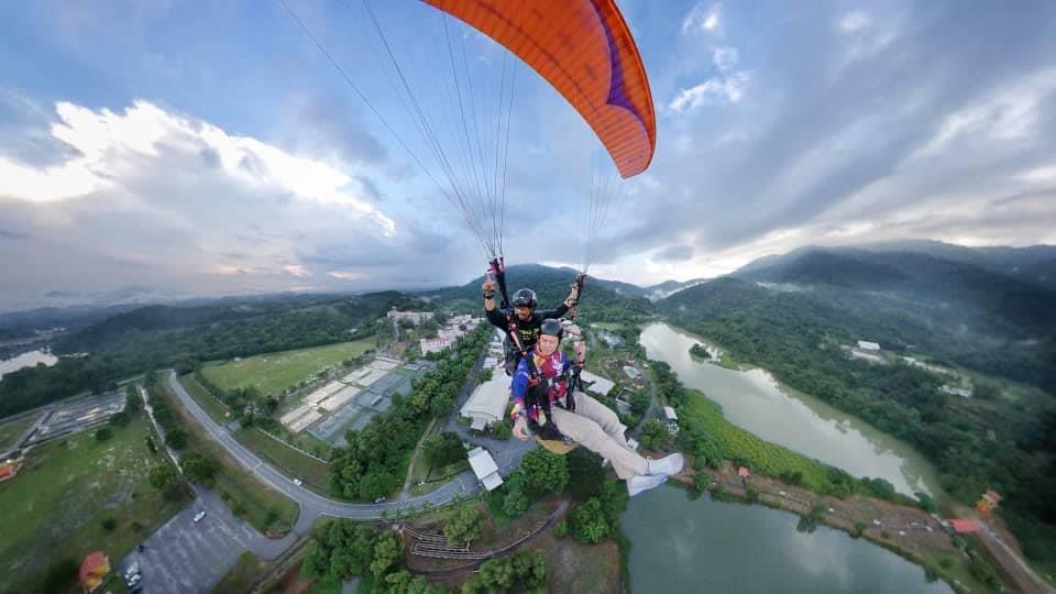 Paragliding Manfaat Kesihatan