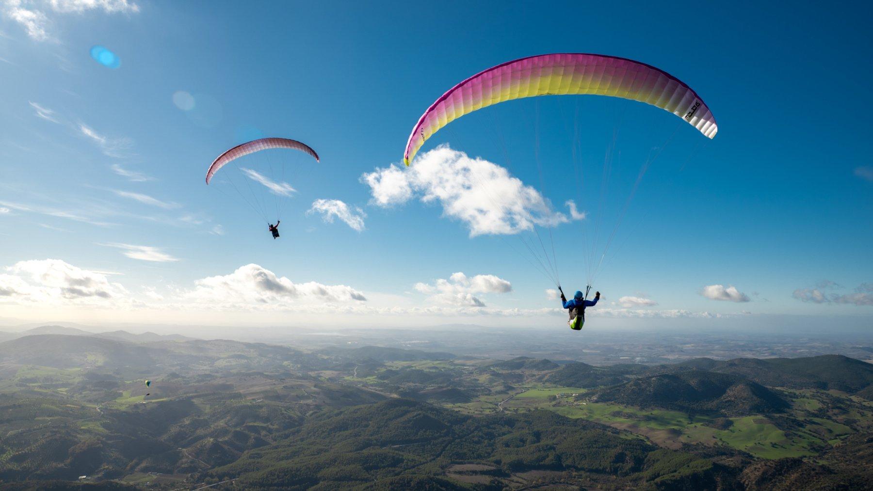 manfaat paragliding kepada kesihatan
